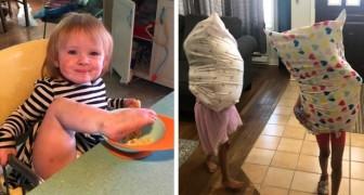 15 bambini incontrollabili dimostrano come un genitore non possa mai rilassarsi un attimo