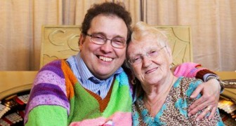 He is 45 and she is 85: despite the difference in age, they live the love story of their dreams
