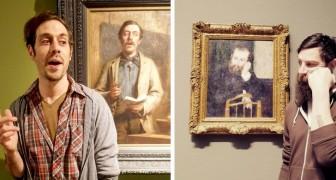 15 persone che hanno incontrato il loro sosia all'interno di un dipinto