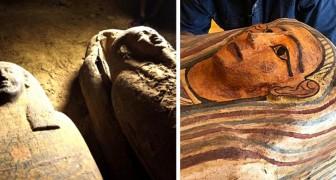 In Ägypten wurden 27 Sarkophage entdeckt, die seit 2500 Jahren nicht mehr geöffnet wurden: Es handelt sich um eine der wichtigsten Entdeckungen dieser Art