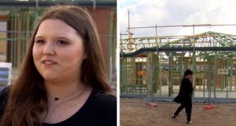 Esta menina conseguiu comprar sua primeira casa aos 19 anos, depois de economizar dinheiro trabalhando no McDonald's