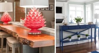 15 fantastici tavolini e console per arredare con gusto il retro dei divani