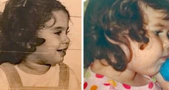 Queste persone hanno ritrovato vecchie foto scoprendo che i parenti, da giovani, erano uguali a loro