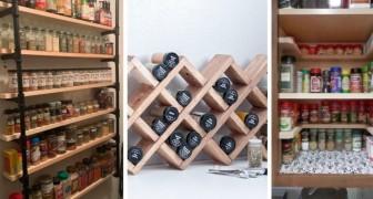 10 brillanti proposte per creare portaspezie fai da te e fare ordine in cucina in modo creativo