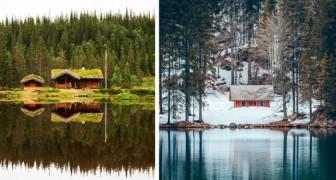21 isolierte Häuser an wunderschönen Orten, wo man dem Chaos der Stadt entfliehen und wieder Kontakt zur Natur aufnehmen kann