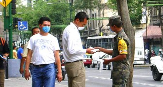 Au Mexique, ceux qui ne portent pas de masque dans la rue sont obligés de faire des travaux d'intérêt général