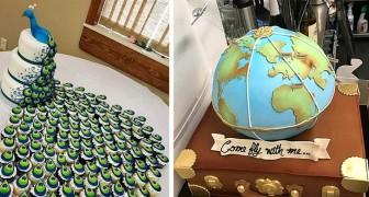 15 des gâteaux de mariage les plus créatifs et originaux jamais vus : ce sont de véritables œuvres d'art pâtissier