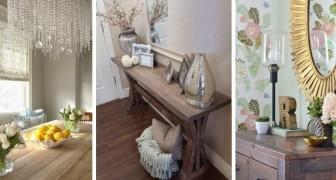 11 soluzioni affascinanti per arredare i vostri ambienti in perfetto stile rustic-chic