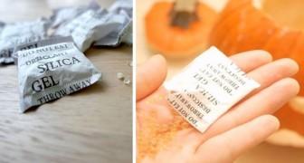 8 usi alternativi e insoliti delle bustine di silice che possono tornare utili nella vita di tutti i giorni