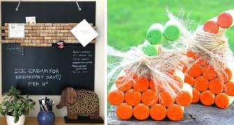8 idee irresistibili per riciclare i tappi di sughero e ricavarne fantastiche decorazioni e oggetti utili