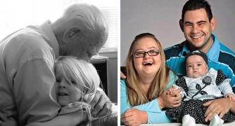 Estas fotos mostram melhor do que mil palavras que a família é um bem precioso e insubstituível