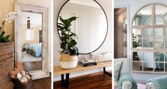 15 trouvailles irrésistibles pour éclairer n'importe quelle pièce en insérant de magnifiques miroirs