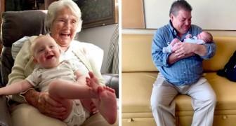 16 photos qui témoignent du lien profond entre les petits-enfants et les grands-parents