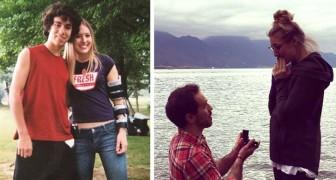 Ein junger Mann auf der Schwelle zum Selbstmord erhält einen Anruf seiner Ex aus der Schule: Am Ende heiraten sie