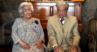 Sie heiraten trotz der widrigen Meinung ihrer Familien: Heute sind sie das älteste Paar der Welt
