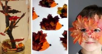 10 activités créatives pour amuser les enfants avec les feuilles d'automne