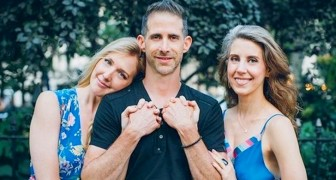 He divorces his wife after 19 years and begins a relationship with two women at the same time