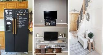 15 brillanti ritocchi fai-da-te per rinnovare l'arredamento di qualsiasi stanza