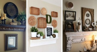 10 idee strepitose per usare le mensole da camino come eleganti decorazioni da parete
