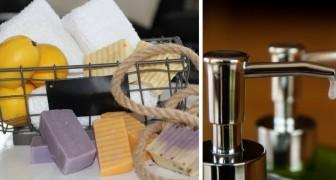 Il metodo facile e velocissimo per riutilizzare in modo pratico i rimasugli di sapone