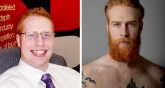Ein übergewichtiger junger Mann lässt sich einen Bart wachsen und beschließt, sein Leben zu verändern: Jetzt ist er ein erfolgreiches Topmodel