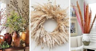 11 compositions créatives pour transformer les branches mortes en de magnifiques décorations