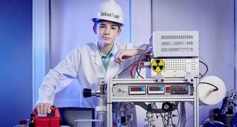 A 12 anni costruisce un reattore a fusione nucleare in casa ed entra nel Guinness dei Primati