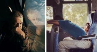 Une femme prend des photos de gens ordinaires qui se rendent au travail : les photos sont très poétiques