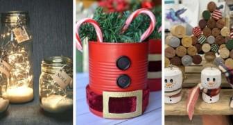 Décorations DIY : tous les matériaux de récup à mettre de côté pour Noël