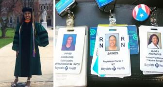 10 anni fa faceva le pulizie in un ospedale, oggi è un'infermiera tirocinante all'interno della stessa struttura