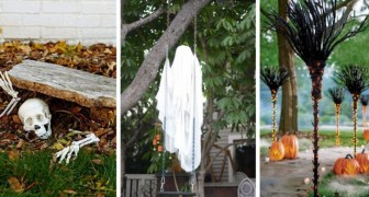 10 trovate super-spaventose per decorare il vostro giardino in occasione di Halloween