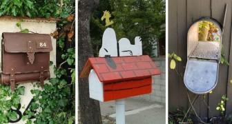 10 proposte irresistibili per arricchire il giardino con cassette della posta super-creative
