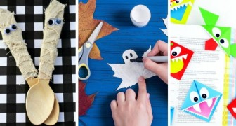 10 travaux créatifs tous plus beaux les uns que les autres à réaliser à Halloween avec les enfants