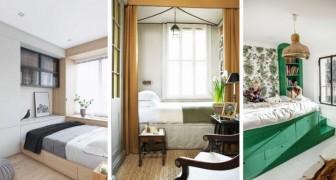 12 soluzioni ingegnose e funzionali per valorizzare l'arredamento nelle camere da letto più piccole