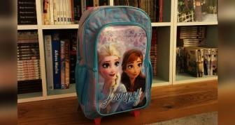 Un garçon de 3 ans est harcelé à la maternelle parce qu'il porte un sac à dos Reine des Neiges : C'est pour les filles