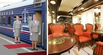 Deze trein is een superluxe hotel op rails: een suite kan ruim 12.000 euro kosten