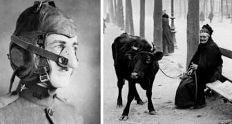 20 foto's van de Eerste Wereldoorlog die geschiedenisboeken meestal niet laten zien