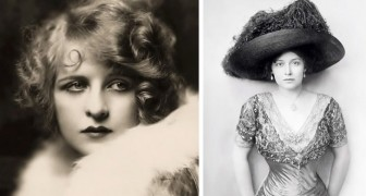 How celebrities looked 100 years ago: 15 photos of the most beautiful women of the last century