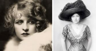 Como eram as celebridades há 100 anos: 15 fotos das mulheres mais bonitas do século passado