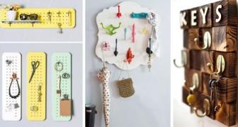 10 idee brillanti per realizzare appendi-chiavi fai da te belli e originali