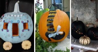 Zucche stregate di Halloween: 13 spunti per intagliarle in modo creativo, tutti da copiare