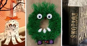 10 decorazioni semplici ma irresistibili perfette per festeggiare Halloween con creatività