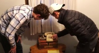 He asked his teenage children to dial a number on an old telephone: their attempts are hilarious