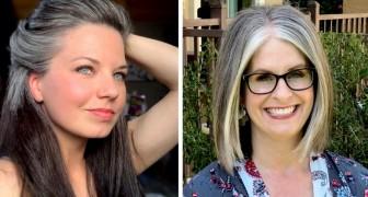 15 vrouwen die hun haar niet meer verven om de wereld de schoonheid van hun grijze haar te laten zien