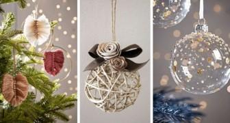 12 tecniche strepitose per realizzare fantastici ornamenti di Natale fai-da-te