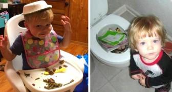 17 fotos de niños caprichosos que hicieron literalmente enloquecer a sus padres
