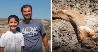 Deze 12-jarige jongen ontdekte per ongeluk een 69 miljoen jaar oud dinosaurusskelet