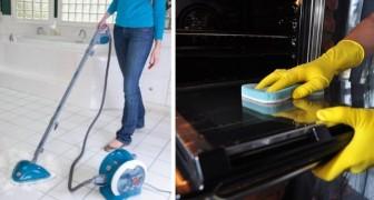 9 dritte utilissime per svolgere le pulizie di casa come dei veri professionisti