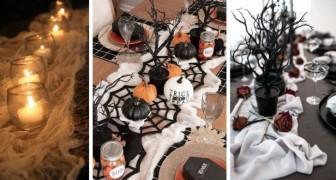 Halloween: 9 spunti creativi per realizzare centrotavola fai-da-te e allestire in modo scenografico