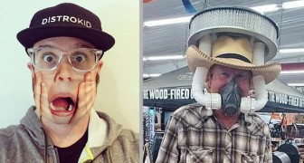 19 Personen, die die Maskenpflicht auf die absurdeste und amüsanteste Weise erfüllt haben